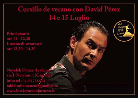 stage viernes cueva flamenco David Perez