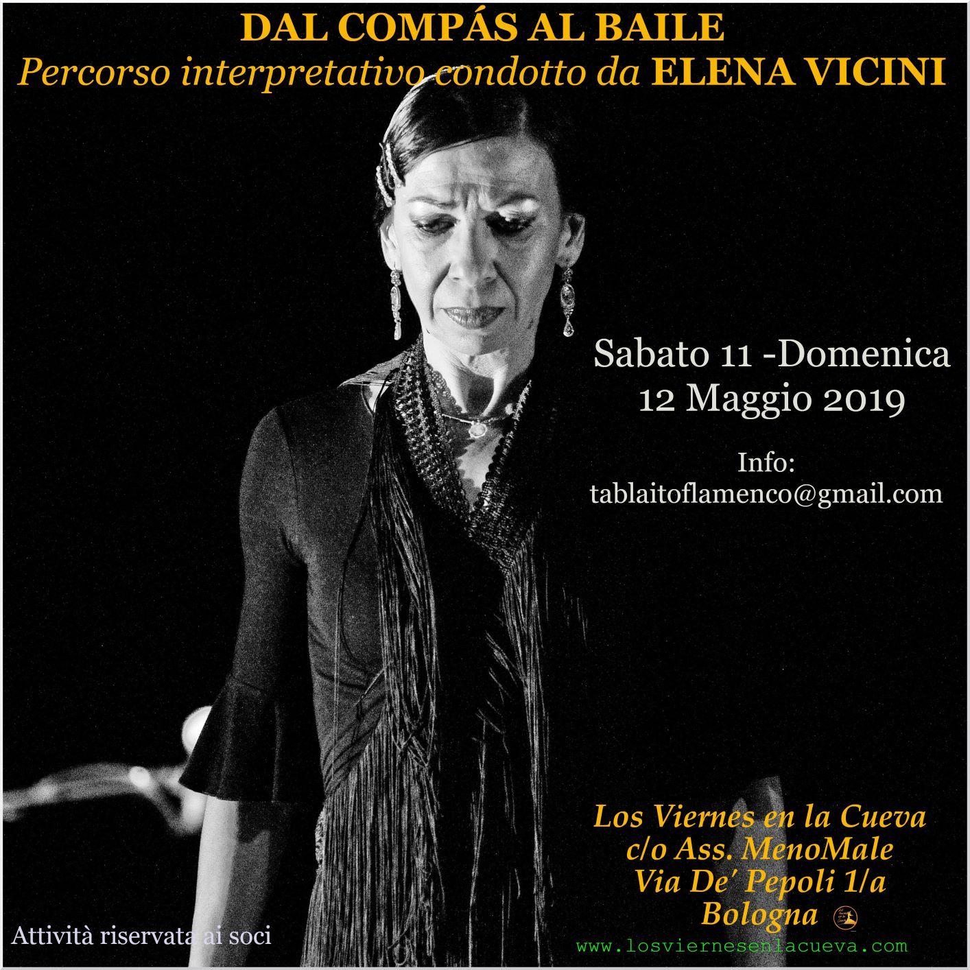 Elena Vicini Workshop a Bologna Los Viernes en la Cueva