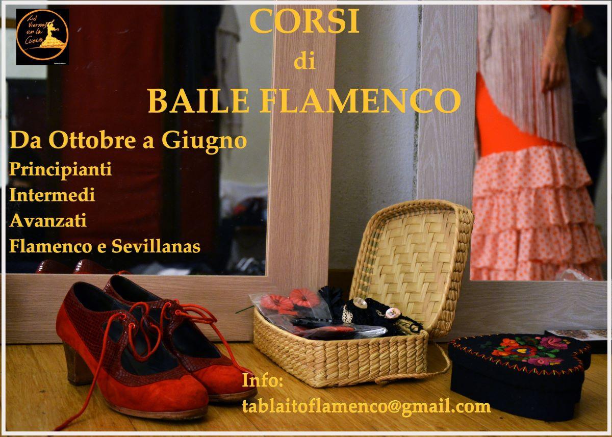 Corsi flamenco Bologna Los Viernes en la Cueva