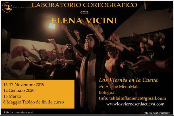 Los Viernes en la Cueva Bologna Flamenco Elena Vicini