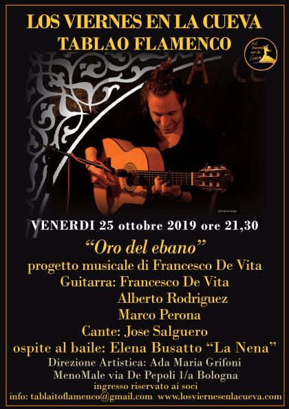 Tablao flamenco Bologna Cueva