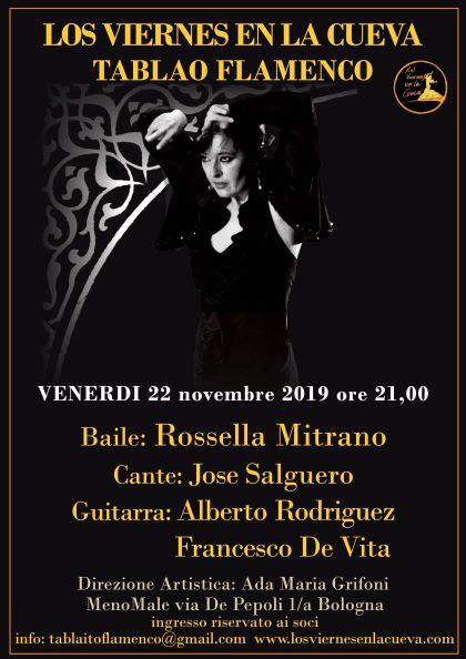 tablao,flamenco,Bologna,Cueva