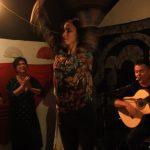 Los Viernes en la Cueva, immagini 2019, Maria Jose Leon Soto, Tablao flamenco, Bologna