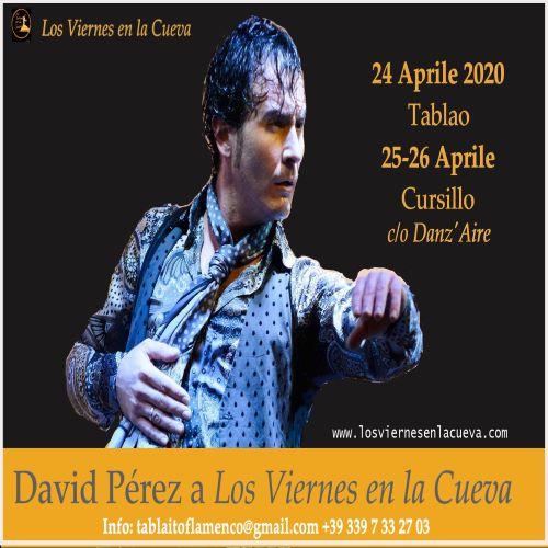 David Pérez, Los Viernes en la Cueva, corsi, tablao, Bologna