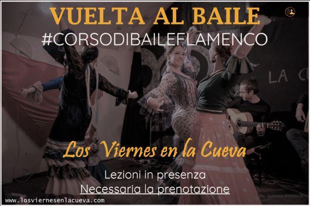 los viernes en la Cueva, flamenco, Bologna, corsi, tablao