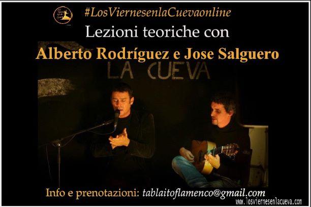 los viernes en la cueva, tablao, corsi di flamenco, Bologna, Jose Salguero, Alberto Rodriguez
