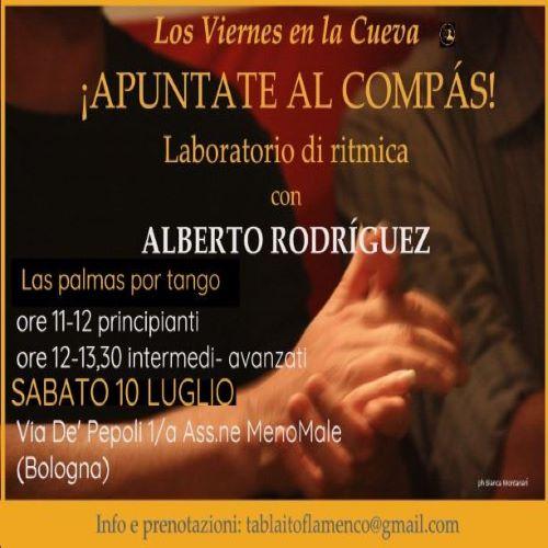 los viernes en la cueva, tablao, corsi di flamenco, Bologna,Alberto Rodriguez