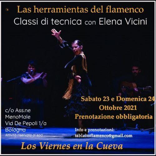 los viernes en la cueva, tablao, corsi di flamenco, Bologna,Ada Maria Grifoni,Elena Vicini